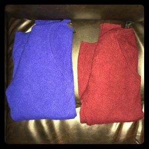 2 cashmere sweaters NWOT